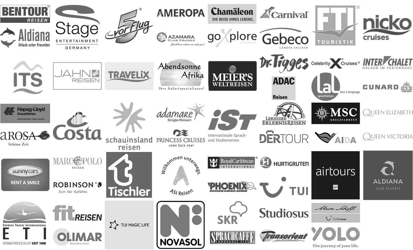 Waldshuter Reisebüro - Partnerlogos 2020